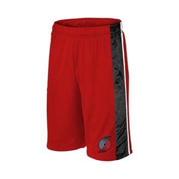 Boys 8-20 Majestic Portland Trail Blazers Birdseye Shorts