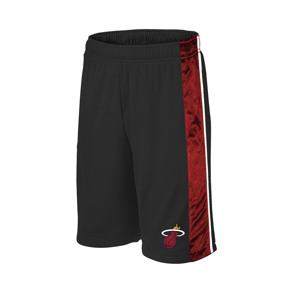 Boys 8-20 Majestic Miami Heat Birdseye Shorts