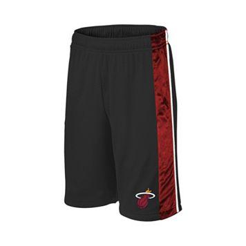 Boys 8-20 Majestic Miami Heat Birdseye Shorts