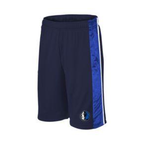 Boys 8-20 Majestic Dallas Mavericks Birdseye Shorts