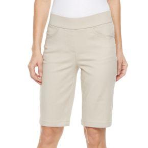 Petite Kate and Sam Stretch Bermuda Shorts