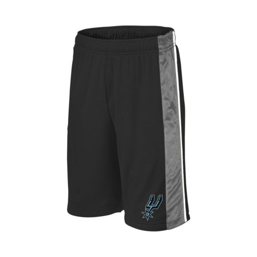 Boys 8-20 Majestic San Antonio Spurs Birdseye Shorts