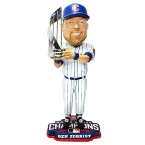 Forever Collectibles Chicago Cubs 2016 World Series Champions Ben Zobrist Bobblehead