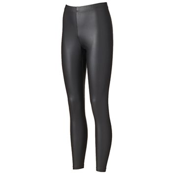 Women's French Laundry Faux-Leather Leggings