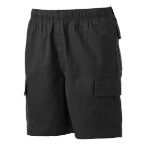Men's Croft & Barrow® Classic-Fit Canvas Twill Elastic Cargo Shorts