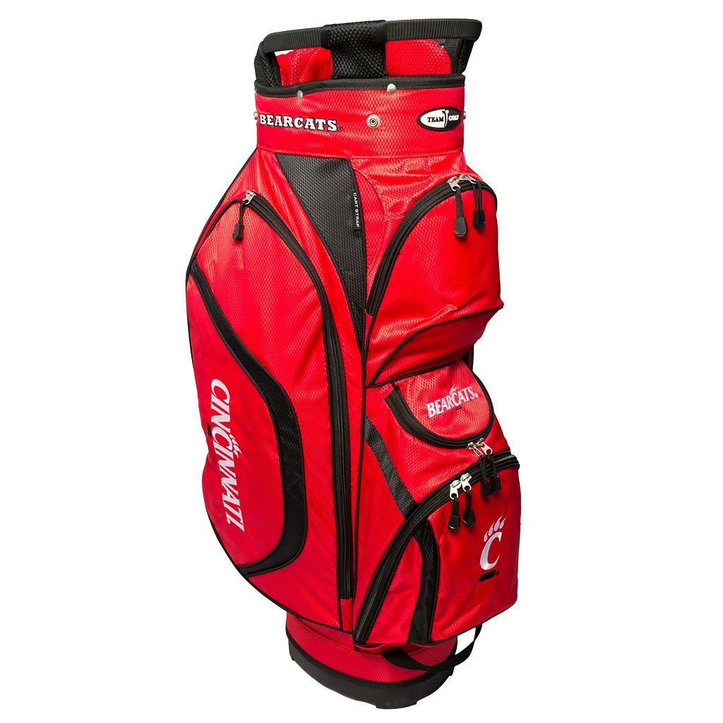 Team Golf Cincinnati Bearcats Clubhouse Golf Cart Bag