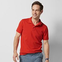 Big & Tall SONOMA Goods for Life™ Flexwear Classic-Fit Pique Polo