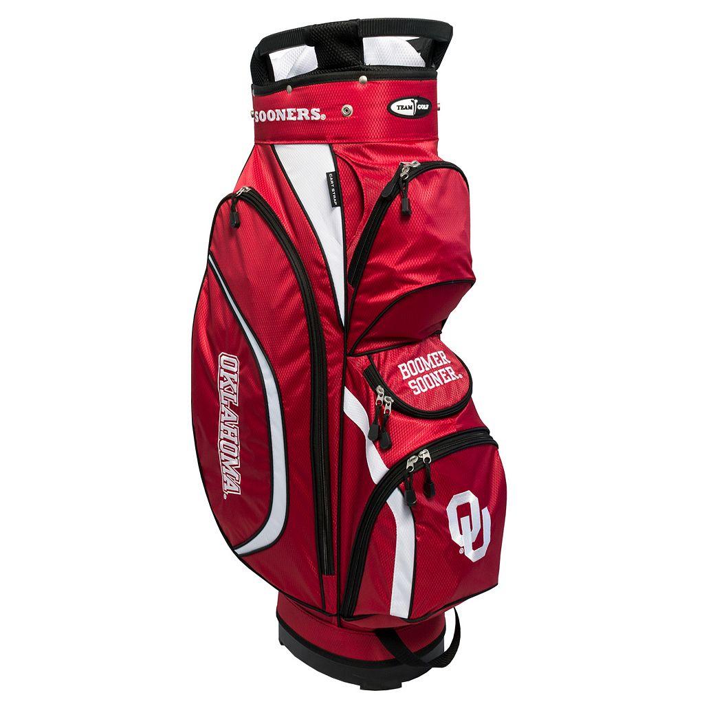 Team Golf Oklahoma Sooners Clubhouse Golf Cart Bag