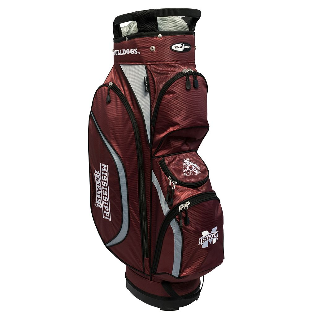 Team Golf Mississippi State Bulldogs Clubhouse Golf Cart Bag