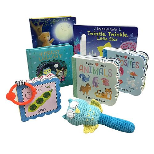 Read to Me Night Owl Gift Set by Cottage Door Press