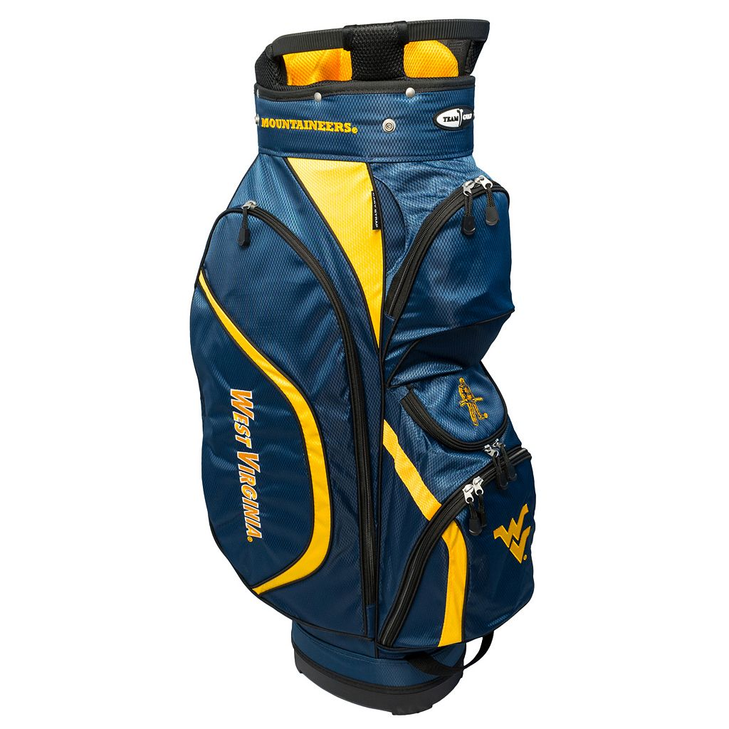 Team Golf West Virginia Mountaineers Clubhouse Golf Cart Bag