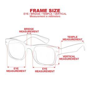 Men's Dockers Single Bridge Sunglasses
