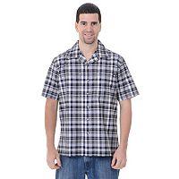 Big & Tall Dickies Plaid Camp Button-Down Shirt