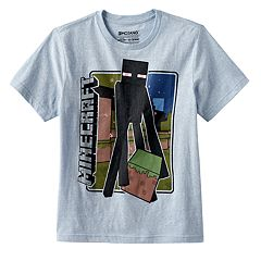 Boys 8-20 Minecraft Enderman Tee