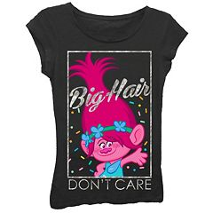 Girls 7-16 DreamWorks Trolls Poppy 'Big Hair Don't Care' Graphic Tee