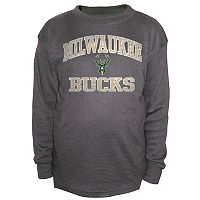 Boys 8-20 Majestic Milwaukee Bucks Thermal Tee