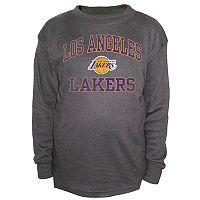 Boys 8-20 Majestic Los Angeles Lakers Thermal Tee