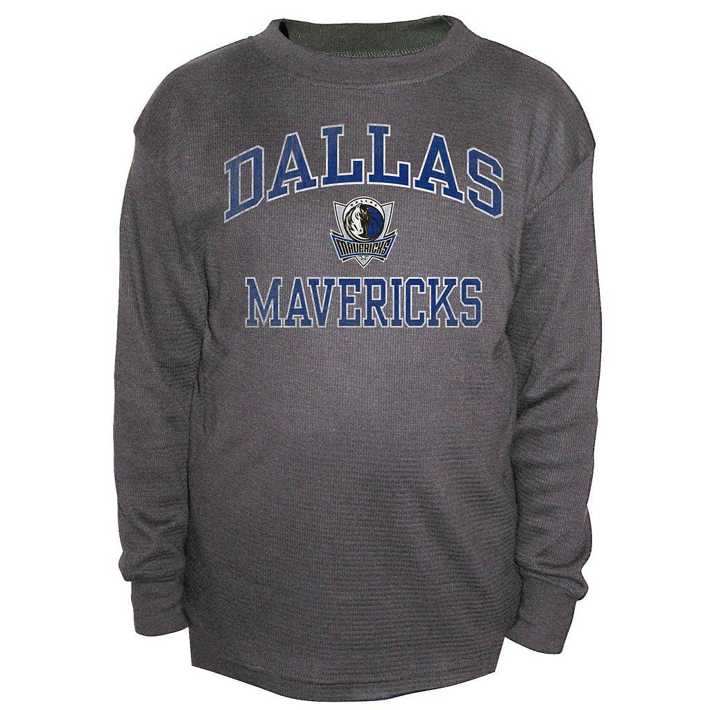 Boys 8-20 Majestic Dallas Mavericks Thermal Tee