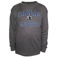 Boys 8-20 Majestic Dallas Mavericks Thermal Tee