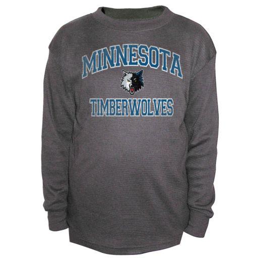 Boys 8-20 Majestic Minnesota Timberwolves Thermal Tee