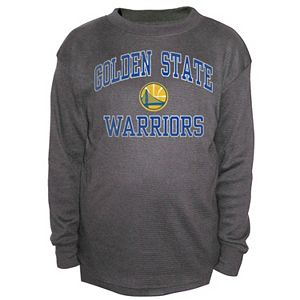 Boys 8-20 Majestic Golden State Warriors Thermal Tee