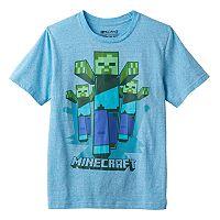 Boys 8-20 Minecraft Zombie Tee