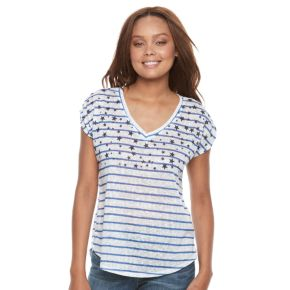 Petite Kate and Sam Stars & Striped Tee