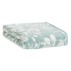 Loft by Loftex Floral Block Jacquard Hand Towel