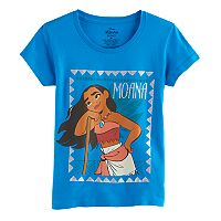 Disney's Moana Girls 7-16 Turquoise Graphic Tee