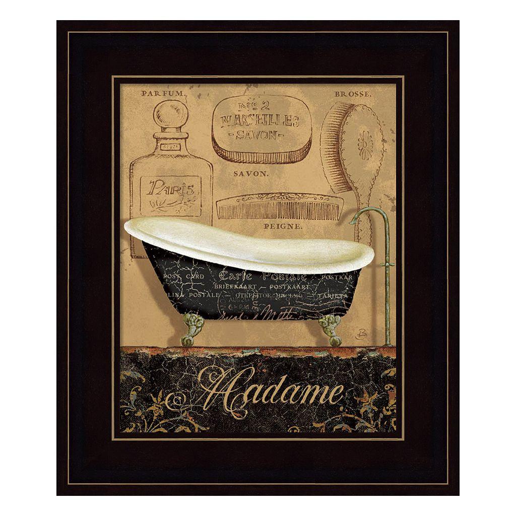 Bain de Madame Framed Wall Art