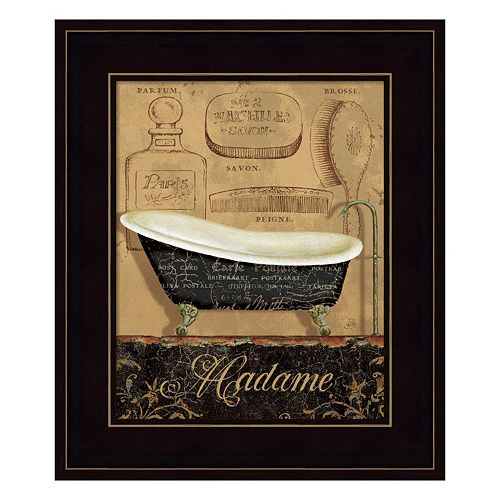 Bain de Madame Framed Wall Art
