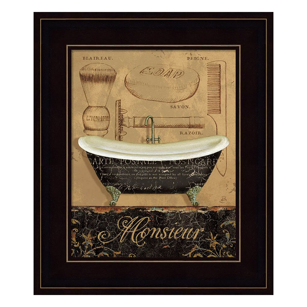 Bain de Monsieur Framed Wall Art