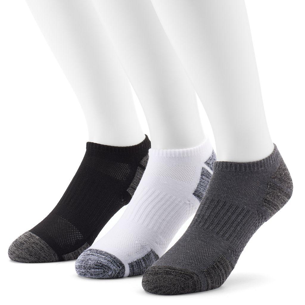 Men's Tek Gear® 3-Pack CoolTEK Performance Athletic No-Show Socks