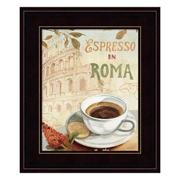Cafe in Europe III Framed Wall Art