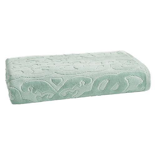Loft by Loftex Trellis Sculpted Jacquard Bath Towel
