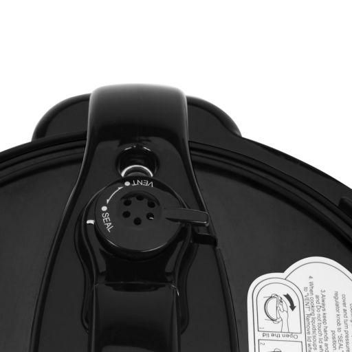 Elite Platinum 6-qt. Digital Pressure Cooker with Bonus Glass Lid