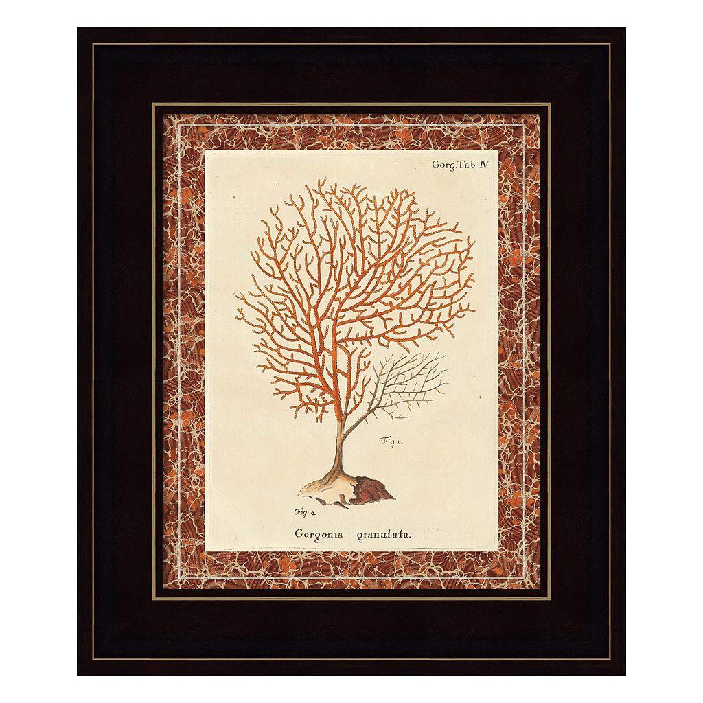 Gorgonia Granulata Marble Framed Wall Art