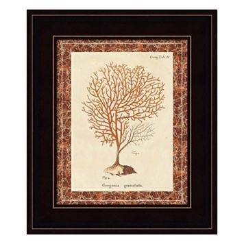 Gorgonia Granulata Marble Framed Wall Art