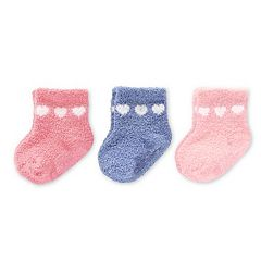 Baby Girl Carter's 3-pk. Chenille Socks