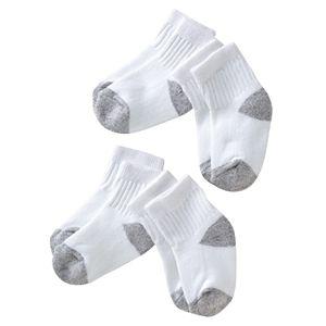 Carter's 4-pk. Gray Cushion Crew Socks