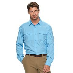 Big & Tall Columbia Pacific Breeze Button-Down Shirt