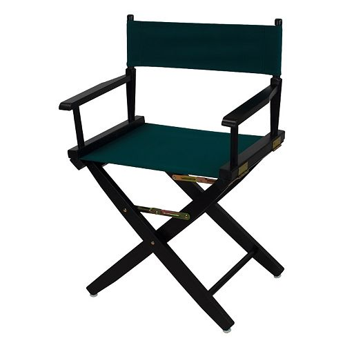 "Casual Home 18"" Black Finish Director's Chair"
