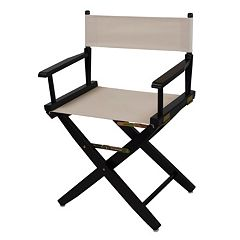 Casual Home 18' Black Finish Director's Chair