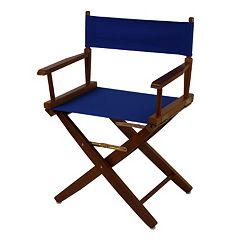 Casual Home 18' Oak Finish Director's Chair