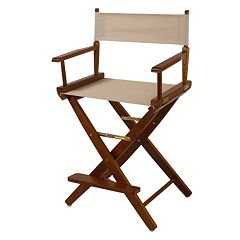 Casual Home 24' Oak Finish Director's Chair