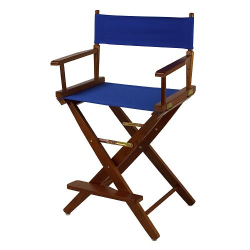 """Casual Home 24"""" Oak Finish Director's Chair"""