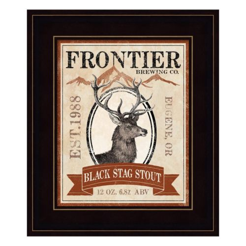 Frontier Brewing I Framed Wall Art