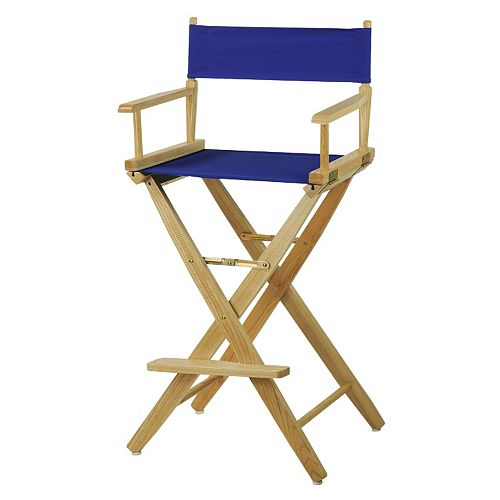 "Casual Home 30"" Extra-Wide Director's Chair Bar Stool"