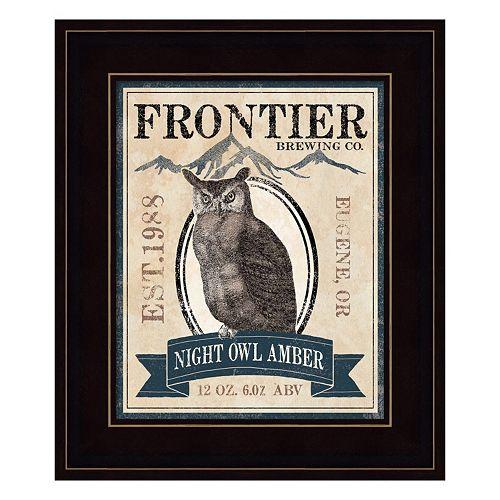 Frontier Brewing III Framed Wall Art