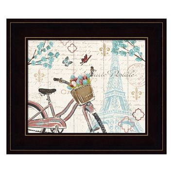 Paris Tour I Framed Wall Art